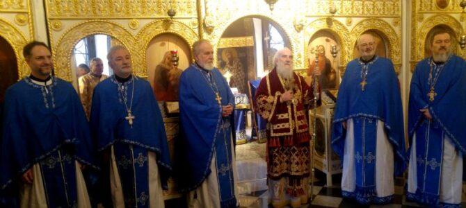 Патријарх српски г. Иринеј богослужио у цркви Ружици на Калемегдану