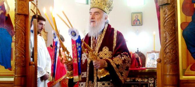 Патријарх српски г. Иринеј богослужио у Котежу