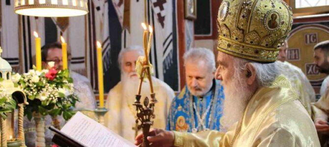 Патријарашка Литургија у манастиру Туману