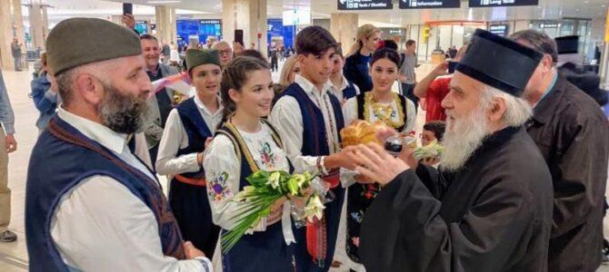 Патријарх српски г. Иринеј у посети Епархијама СПЦ у САД