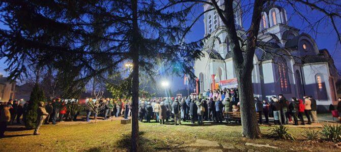 Молебан Пресветој Богородици у Беочину за очување светиња у Црној Гори
