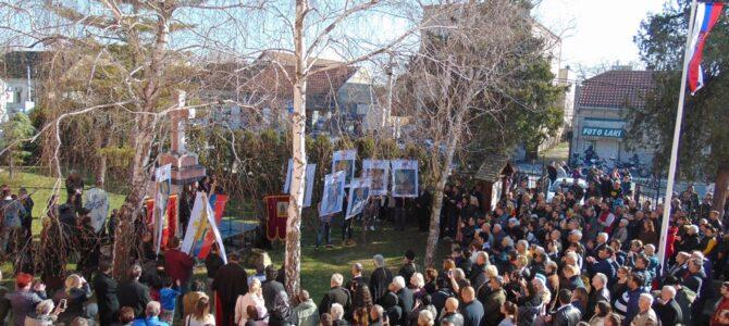 У Сурчину служен Молебан подршке заштити светиња у Црној Гори