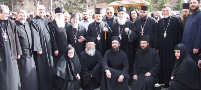 Патријарх српски г. Иринеј у манастиру Тумане