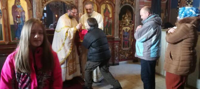 Недеља о митару и фарисеју у манастиру Велика Ремета