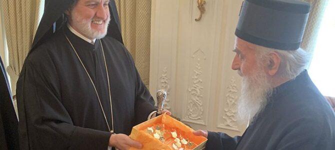 Сусрет Патријарха са aрхиепископом Елпидофором