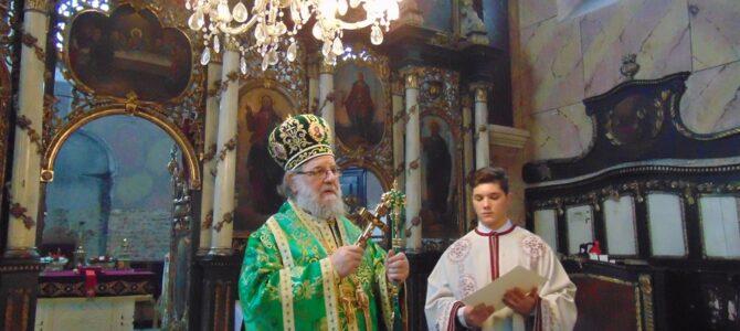 Света архијерејска Литургија у Недељу Православља у Добановцима