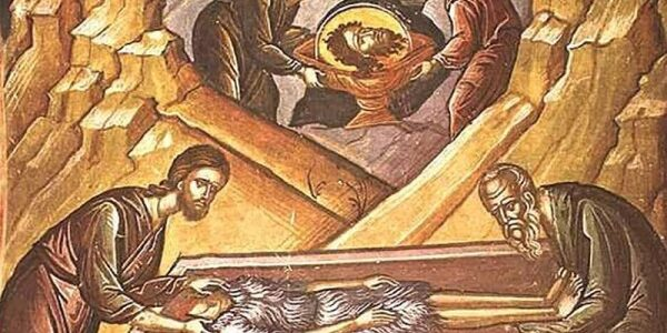 Прво и друго обретење главе Светог Јована Крститеља