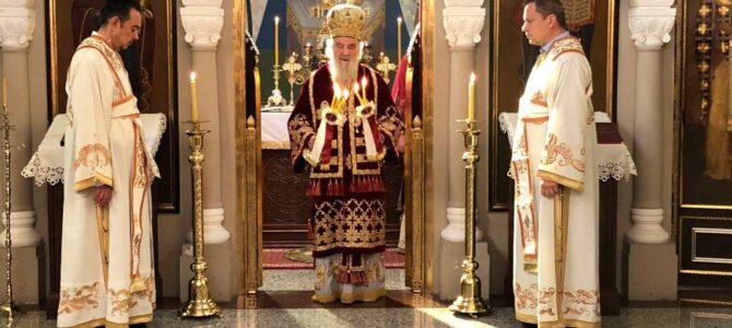 Патријарх српски г. Иринеј молитвено прославио славу у Ваведењу