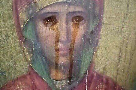 Замироточила икона Мајке Божје «Знамење» у Русији