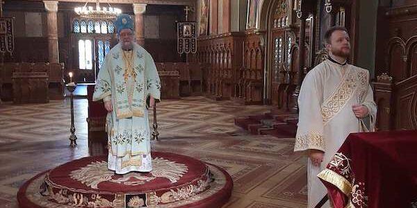 Његово Преосвештенство Епископ сремски богослужио у Сремским Карловцима