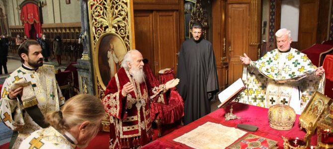 Патријарх српски г. Иринеј служиће Поноћну Васкршњу Литургију у крипти Храма Светог Саве