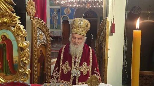 Патријарх српски г. Иринеј на Благовести у манастиру Ваведењу
