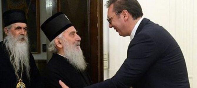 Патријарх Иринеј разговарао са Председником Србије о хапшењу Епископа Јоаникија