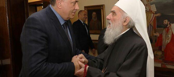 Патријарх српски г. Иринеј разговарао са г. Милорадом Додиком