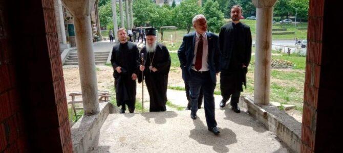 Активности Управе за вере – Посета Храму Св. Пантелејмона у Миријеву