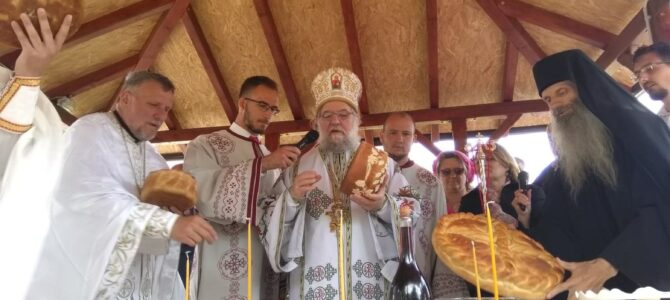 Његово Преосвештенство Епископ сремски богослужио на Врањашу