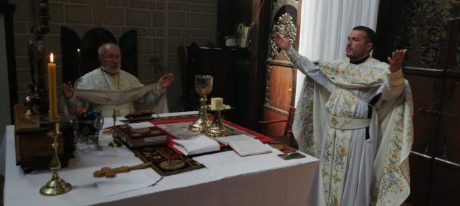 Свети Василије Острошки прослављен у храму Силаска Светог Духа на апостоле у Руми