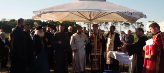 Освећење земљишта за нову цркву у Новој Пазови