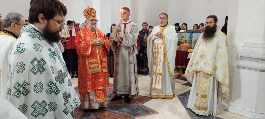 Прослава храмовне славе Вазнесења Господњег у манастиру Беочин