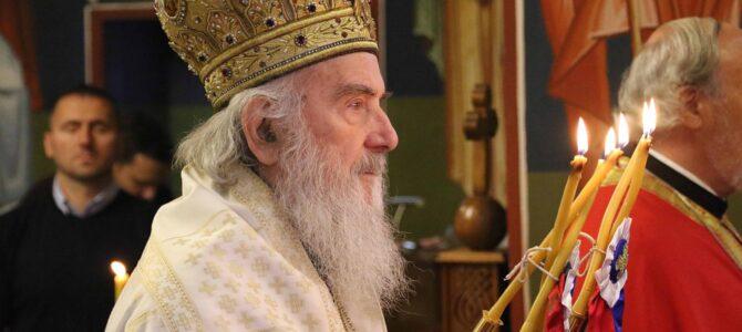 Патрјарх српски г. Иринеј богослужио на Бановом брду