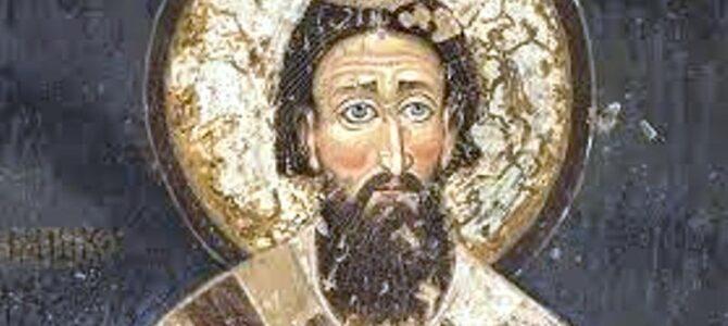Свети Јустин Поповић: Спаљивање моштију Светог Саве