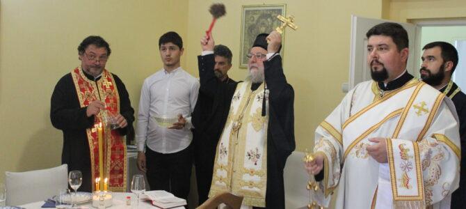 Освештан обновљен парохијски дом у Илоку