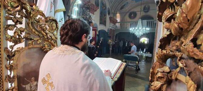 Распоред богослужења у храму Преображења Господњег у Беочину