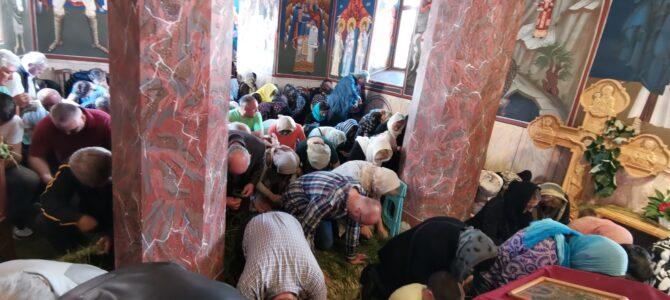 Прослављен празник Силаска Светог Духа на апостоле у манастиру Велика Ремета
