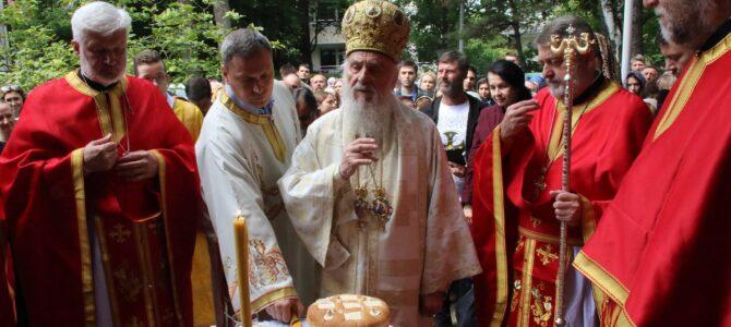 Патријарашком Литургијом обележена слава Вождовачке цркве