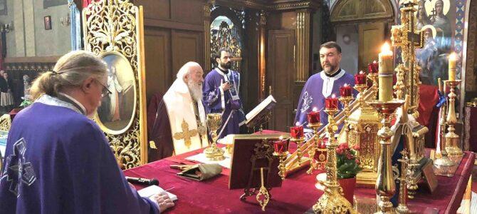 Духовске задушнице у Саборној цркви у Београду