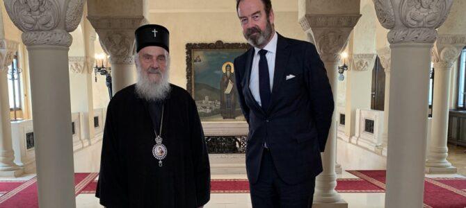 Патријарх српски примио Амбасадора Краљевине Холандије