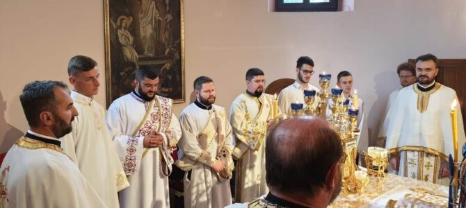 Прослава Рођења Светог Јована Претече у манастиру Ваведења у Сремским Карловцима
