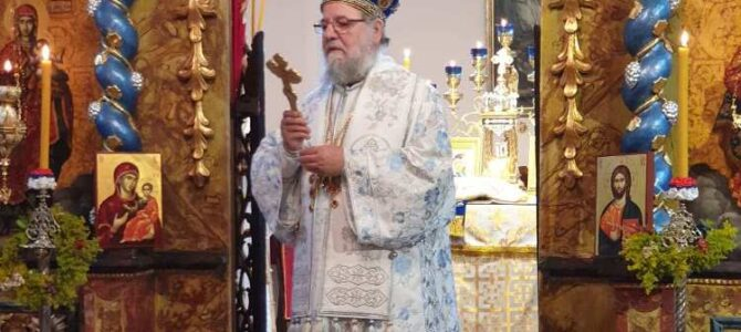 Његово Преосвештенство Епископ сремски богослужио у манастиру Ваведења у Сремским Карловцима
