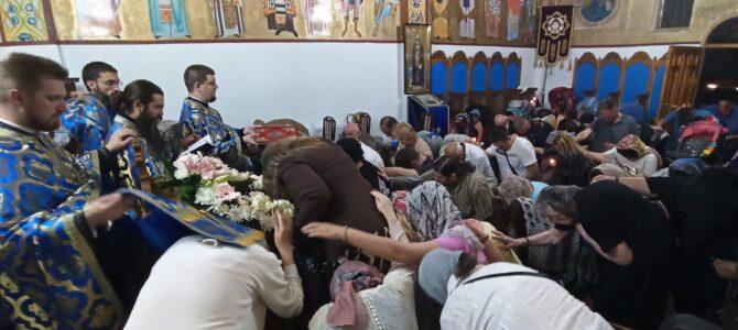 Света тајна јелеосвећења у храму Покрова Пресвете Богородице у Петроварадину
