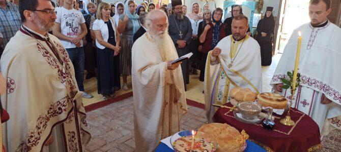 У манастиру Бешеново литургијски прослављени Св. Кирик и Јулита