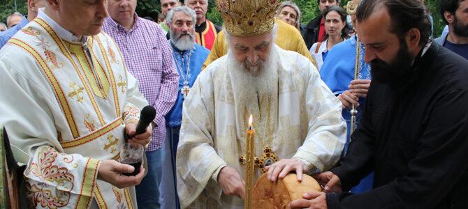 Беседа патријарха српског г. Иринеја у храму на Топчидеру