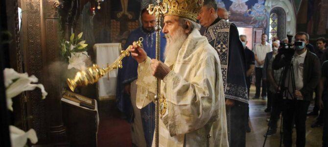 Најава: Патријарх српски г. Иринеј богослужи у Миријеву