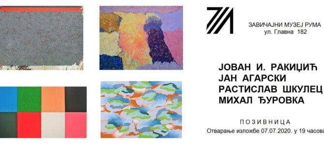 Најава: Отварање изложбе у Завичајном музеју Рума