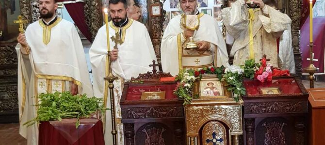 Храм Светога Стефана у Сремској Митровици прославио храмовну славу