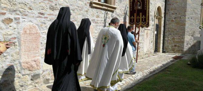 Слава капеле у манастиру Ново Хопово