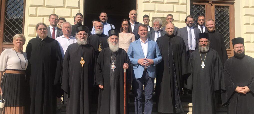 Патријарх српски г. Иринеј посетио Сремске Карловце на позив Епископа сремског