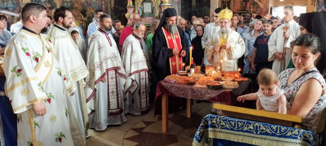 Свечано обележен празник Преподобне Мајке Ангелине у Крушедолу