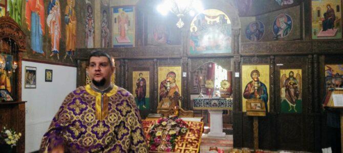 Почетак поста – Изношење Часног Крста у храму Покрова Пресвете Богородице у Петроварадину