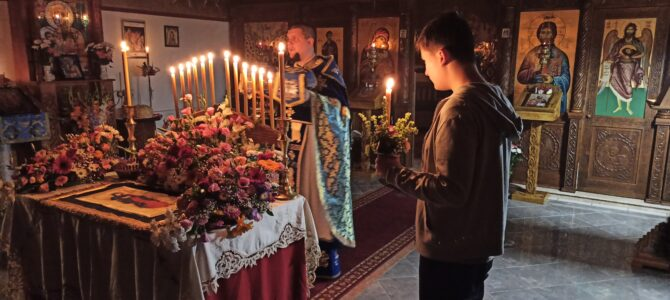 Свеноћно бденије у храму Покрова Пресвете Богородице у Петроварадину