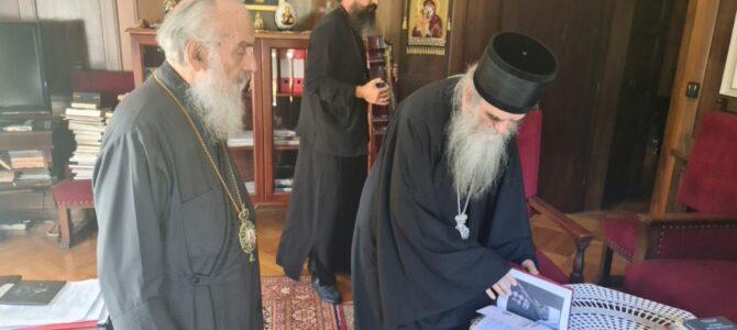 Сусрет Патријарха Иринеја и Митрополита Амфилохија