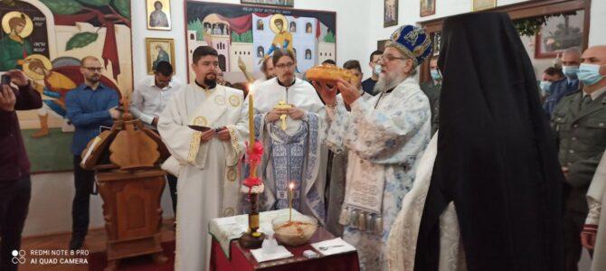 Прослављена слава војне капеле у Сремској Митровици