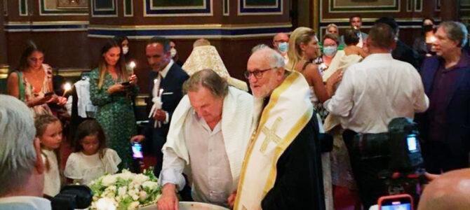 Глумац Жерар Депардје прешао у Православље