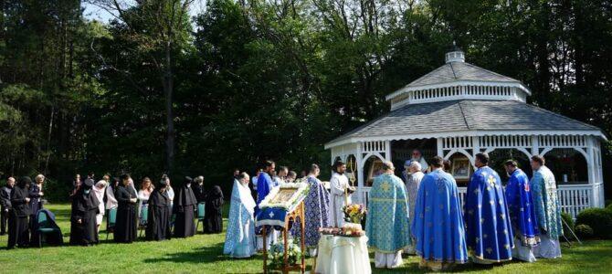 Манастир у Њу Карлајлу (Индијана) прославио своју крсну славу