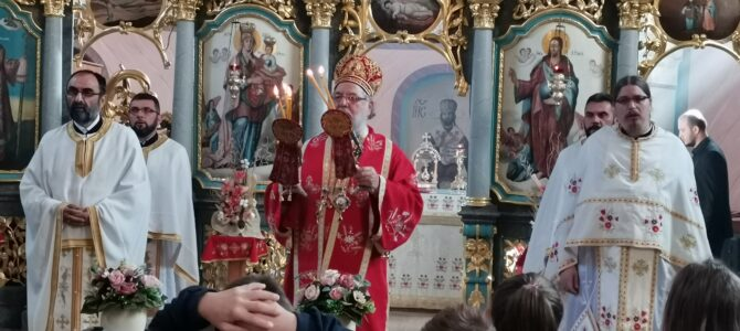 Света архијерејска Литургија у Шашинцима