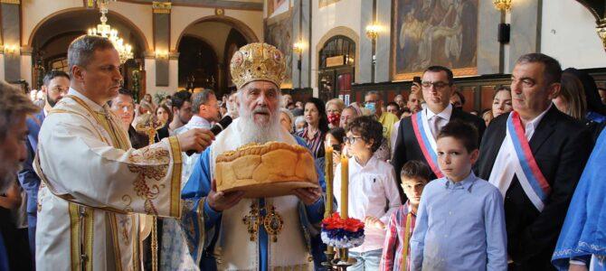 Слава храма Рођења Пресвете Богородице у Земуну